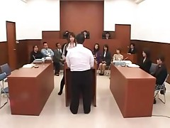 Japanese lawyer gets fucked apart from shadow