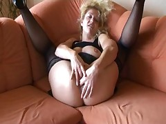 German Dirty talk masturbation