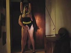 Batgirl trapped
