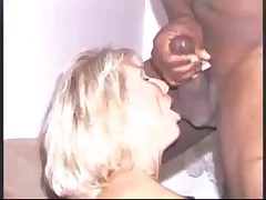 Wife fucks a huge black dick