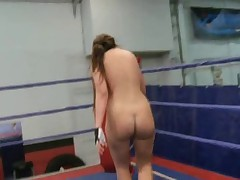 Lesbian Nude Fight Club 1