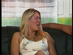 German blonde anal slut
