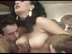 Elodie Cherie in a Gangbang
