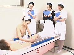 Training Nurse Demonstrates Proper Bathing Propose to