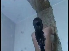F60 Big Boobs EROTIC SHOWER
