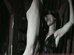Bondage facial german