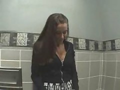 Young girl fucked on toilette - german - csm