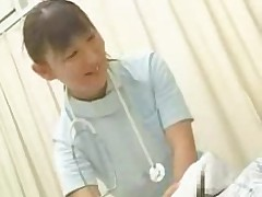 Japanese nurse handjob - censored