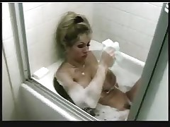 Busty Bath Time