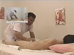 Asian girl fingered during massage p2