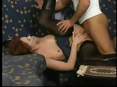 Horny German Redhead