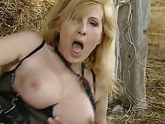 Maurizia and Tecla (Ex-Men) are Fucked at one's fingertips Ranch (by Satanika)
