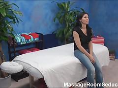 BustyTeen Seduced on Massage Table
