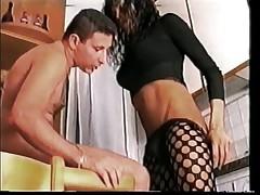 Bitch latin ebony very sexy black hair tits