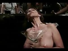 Sexy Pornstar Gets Hot Bukkake