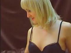 Awesome hot blonde fucking