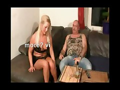 German Bitch fucked wide of Venerable Fat Guy added to cheat her friend
