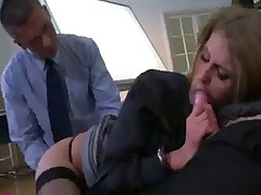 Gangbang in Office