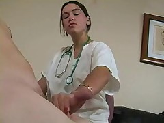 Nurse gives handjob