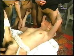 Five men and a nurse