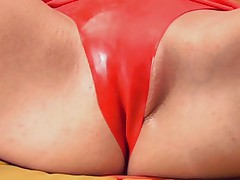 Fetish sex in fishnet and latex