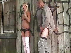 German Blond in Boots Part1