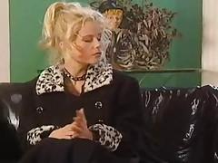 German porn - mature lesbians play rough sex
