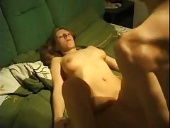 Girlfriend fucked by Buddy. Boyfriend films and chills