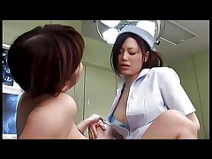 Futanari nurse and girl