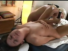 Fingerlicking massage