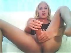 Big dick shemale webcam cum licking