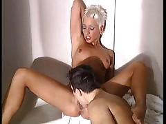 Mandy Mystery fucked in Bathroom