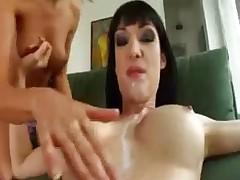 Two Brunette likes cumswap