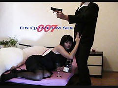 AMAZING GERMAN BEAUTY IN HOT ACTION WITH JAMES BOND