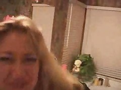 Funny blonde gets fucked