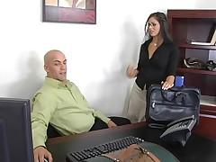 Hot MILF Mikayla Mendex Office Sex