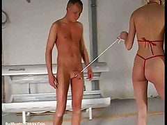 German CBT cock abuse and Ballbusting