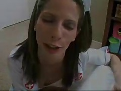 Nurse only Swallows Jizz from a Seringe by snahbrandy