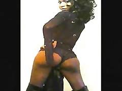 Ebony Shemale Tease