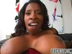Vanessa Blue, one of the bustiest black maid in the industry