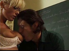 The Teacher want in from behind