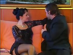 Luna Lombardi - Anal and Stockings