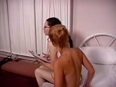 Lesbian Nurses in White stockings