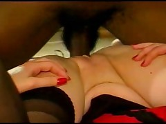 Redheaded milf taking blk:(cuckold)