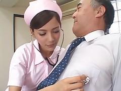 Cute nurse part 5 Rio(censored)