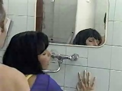 Licking Ass In Public Toilet