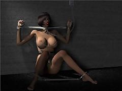 Vintage Erotic Bondage Artwork