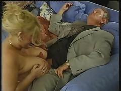Big Tit-Fuck and Cumshot Natural Boobs
