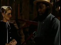 Amish black cock slut