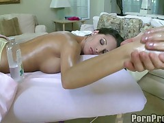 Hot Big Tit Massage